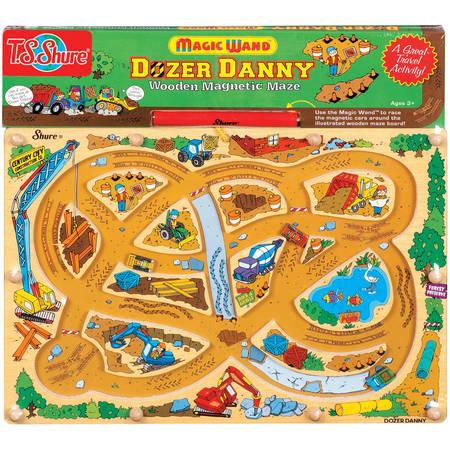 T.S. Shure Dozer Danny Wooden Magnetic - Magnetic Sea Life Maze