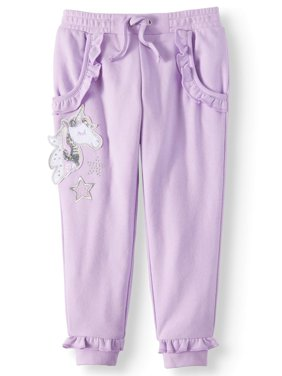 Ruffle French Terry Sweatpants (Little Girls & Big Girls)