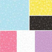 """David Textiles Ellen's Floral 44"""" Quilt Cotton Fabric By The Yard"""
