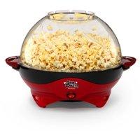 West Bend Stir Crazy Deluxe Popcorn Popper, Red