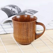 6632e00d7d3 Small Handmade Natural Solid Wood Tea Cup Wooden Wine Coffee Water Drinking  Mug