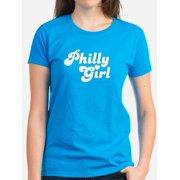 13d112c2c235bc CafePress - Philly Girl - Women s Dark T-Shirt