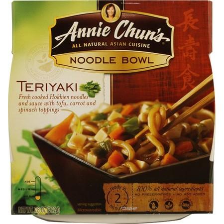 Rice Noodle Bowl (Annie Chun's Noodle Bowl Teriyaki, 7.8 Ounce)