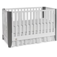 Fisher-Price Jaxon 3-in-1 Convertible Crib White/Stormy Gray