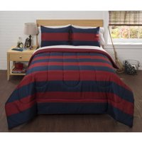American Original Classic Rugby Stripe Bed in a Bag Bedding Comforter Set