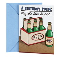 Hallmark Shoebox, Cold Beers, Funny Birthday Greeting Card