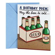 Hallmark Shoebox Cold Beers Funny Birthday Greeting Card