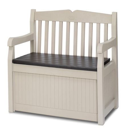 Keter Eden Outdoor Resin Storage Bench All Weather