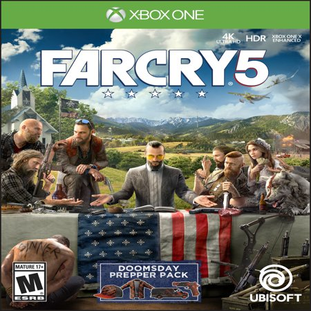 Far Cry 5 Day 1 Edition, Ubisoft, Xbox One, 887256028916