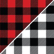 David Textiles Anti-Pill Fleece Buffalo Plaid Fabric By The Yard 60