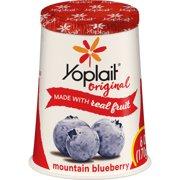 Yoplait Mountain Blueberry Low-Fat Yogurt, 6 Oz.