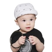 054c48410a0a3 Baby Boy Girls Cotton Sun Hats Kids Shawl Bucket Earflap Visor Cap 3M-24M