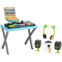 My life as dj play set with sound for dolls, designed for ages 5 and up