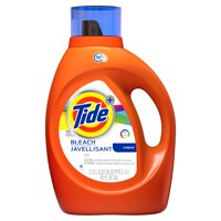 (2 pack) Tide Plus Bleach Alternative HE Turbo Clean Liquid Laundry Detergent, 92 oz, 59 loads