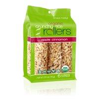 (2 Pack) Crunchy Rice Rollers, Apple Cinnamon, 6 Ct