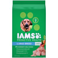 IAMS PROACTIVE HEALTH Adult Large Breed Dry Dog Food Chicken, 15 lb. Bag