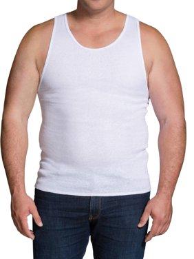Big Men's Dual Defense White A-Shirts, 5 Pack, 2XL