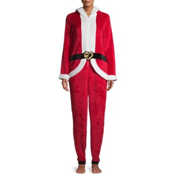 George Women's Holiday Drop Seat Union Suit