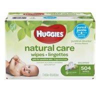 Huggies Natural Care 504ct 9x Rft