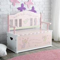 Wildkin Fairy Wishes Bench Seat with Storage