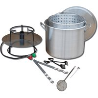 King Kooker #80BP - Portable Outdoor Boiling Kit 80Qt