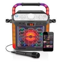 Singing Machine Karaoke Cube Multi-function Karaoke System with dancing lights