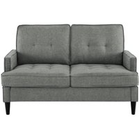 Dorel Living Marley Loveseat, Gray