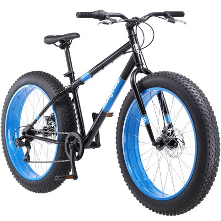 26 Mongoose Dolomite Men S Fat Tire Bike Black Walmart Com