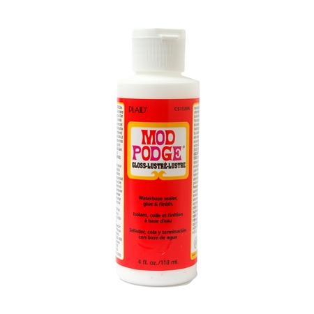 Plaid Mod Podge, Gloss, 4 oz. - Modge Podge Projects