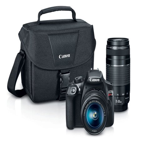 Canon EOS Rebel T6 EF-S 18-55mm + EF 75-300mm Double Zoom (Best Price On Canon Eos Rebel T3i)