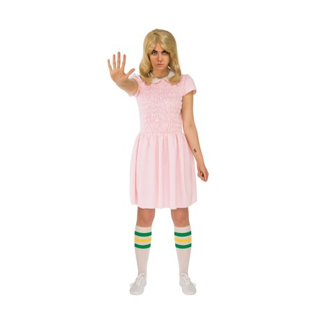 Halloween Stranger Things Eleven's Dress Adult Short Sleeves](Elven Costumes)