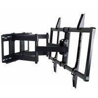 "VideoSecu Full Motion Heavy Duty TV Wall Mount for Samsung Most 60 65 75 78"" LCD LED Plasma HDTV 4K UHD Smart TV bo7"