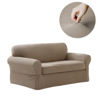 Maytex Pixel Stretch Furniture Cover/Slipcover Loveseat, 2 -Piece