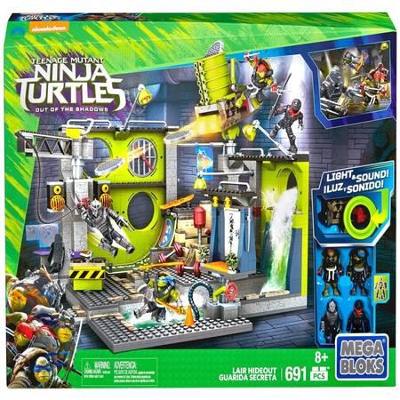 Mega Bloks Teenage Mutant Ninja Turtles Out of the Shadows Lair