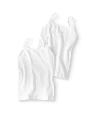 Girls' Seamless Camis, 2-Pack