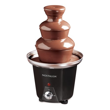 Nostalgia Cff965 3 Tier 1 5 Pound Chocolate Fondue Fountain