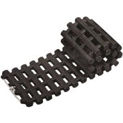 Snow Joe Auto Joe TrackAssist, Thermoplastic Rubber Non Slip Traction for Your Car's Tire in Ice, Snow, Mud and Sand