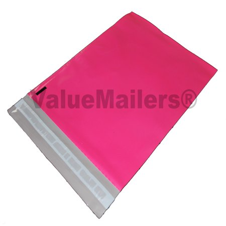 200 10x13 Pink ValueMailers Poly Mailers Shipping Envelopes Bags 10