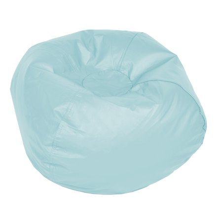 ACEssentials Medium Vinyl Bean Bag Chair, Multiple (Deluxe Bean Bag)