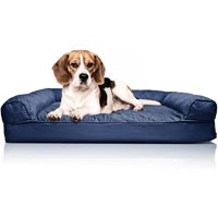 FurHaven Orthopedic Quilted Sofa Dog & Cat Pet Bed,