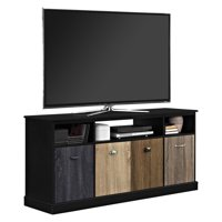 """Ameriwood Home Mercer 60"""" TV Console with Multicolored Door Fronts, Multiple Colors"""