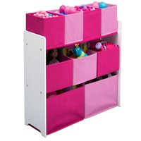 Delta Children Deluxe Multi-Bin Toy Organizer with Storage Bins