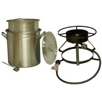 King Kooker #5012-50 Qt. Aluminum Pot and Cooker Pkg