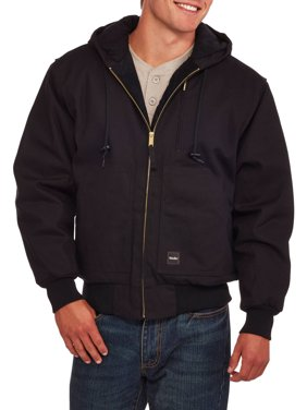 Big and Tall Men's Insulated Duck Hooded Jacket