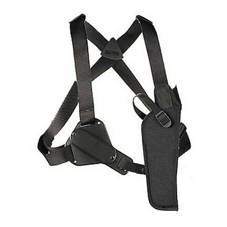 """UNCLE MIKES SHOULDER HOLSTER 8302-1 FITS UP TO 48"""" CHEST BLACK NYLON"""