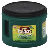 Folgers Decaf Simply Smooth Ground Coffee, 23 Ounces