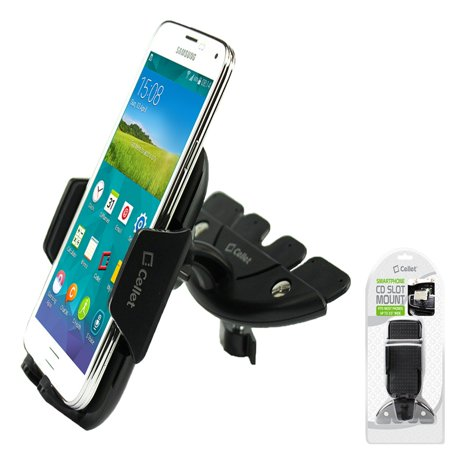 Cellet CD Slot Mount, Car Phone Holder, Cradle, Compatible for All Apple iPhone Xs/Xs Max/Xr X/SE/8/8 Plus/7/7 Plus/6S Plus/6S/6Plus/6/5C/5S/5/4S/4/3GS/3G/iPhone