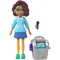 Polly Pocket Active Pose Karaoke Music Kween Shani Pose Doll with Stereo