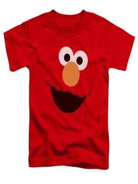 95db4cdc0 Product Image Toddler: Sesame Street- Big Elmo Face Apparel Baby T-Shirt -  Red