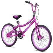 "Kent 20"" Girls', 2 Cool BMX Bike, Satin Purple, For Ages 8-12"